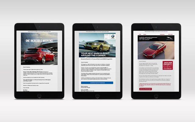 3 automotive email campaigns