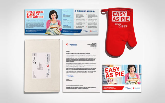 Canada Life Direct Mail campaign by Brookes & Sowerby