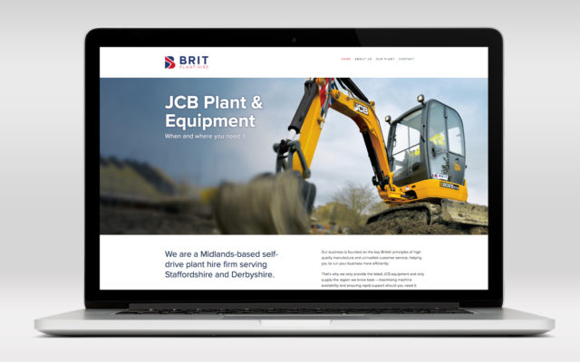 Brit Plant Hire Website
