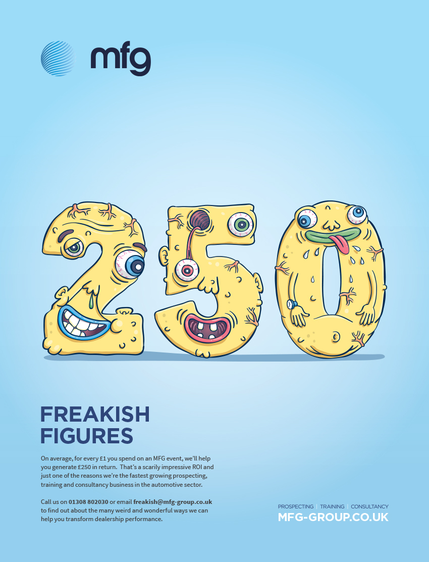 Freakish Figures Press Ad